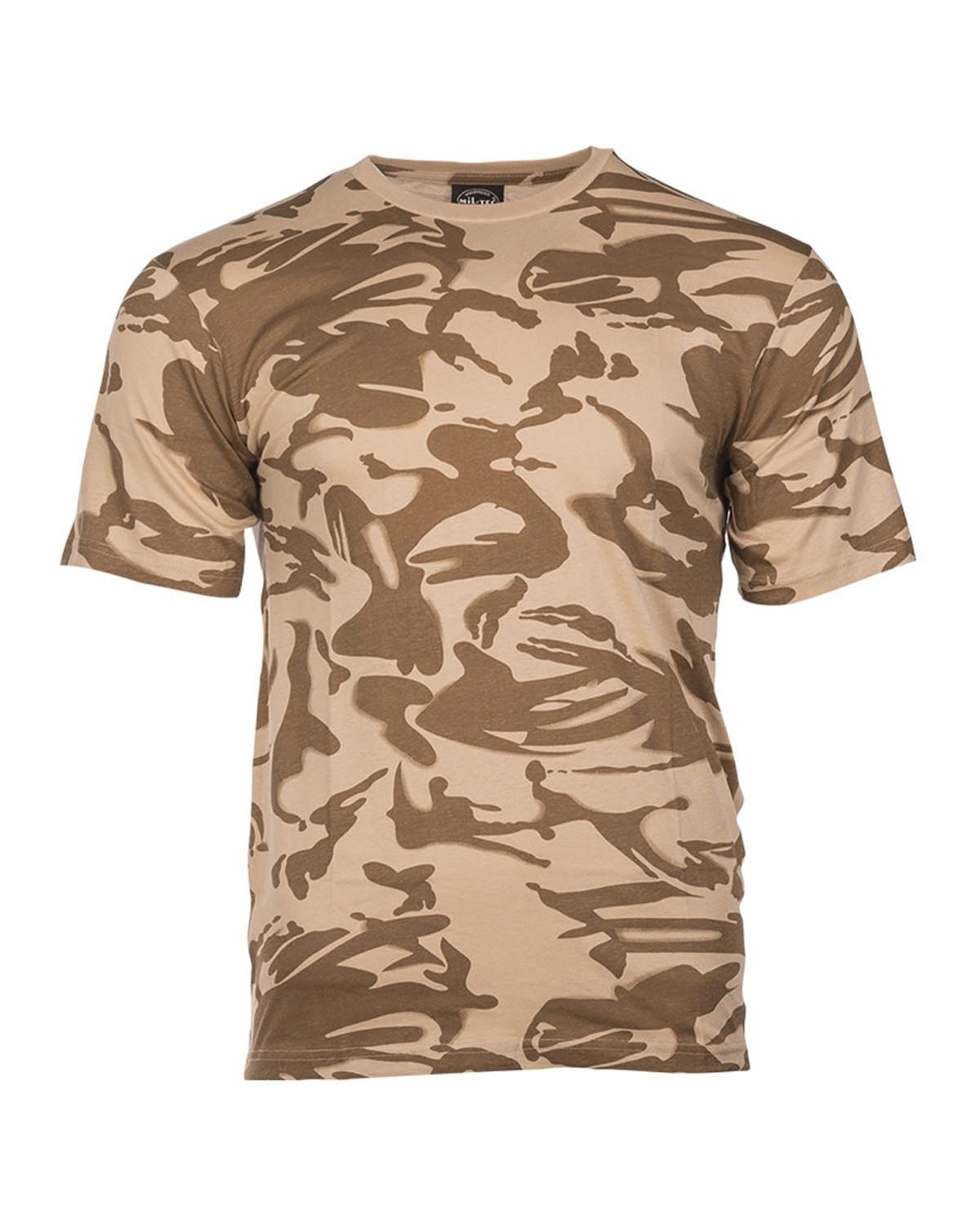 Mil-Tec Camouflage T-shirts (Britisk DPM Desert, 3XL)