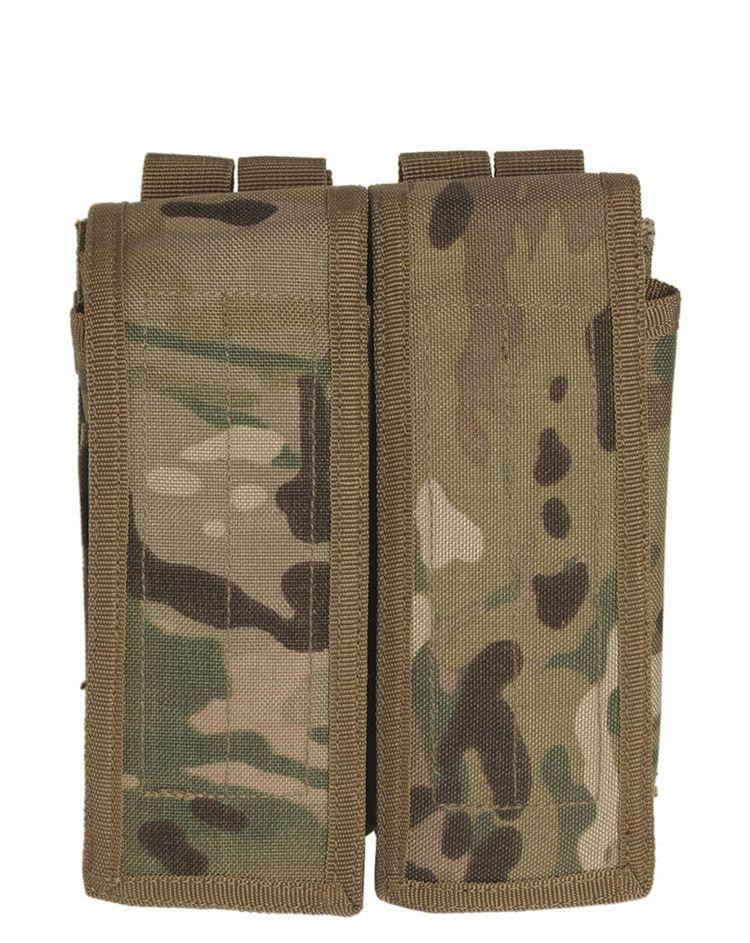 Image of   Mil-Tec Double AK 47 Magasin Pouch (Multi Camo, One Size)