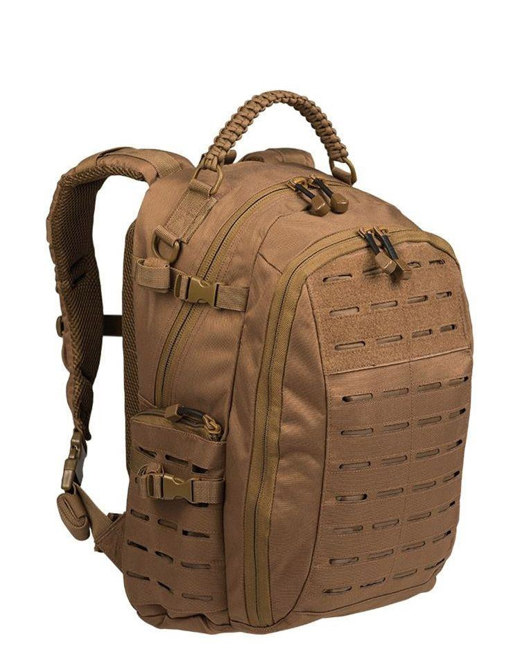 Image of   Mil-Tec Mission Rygsæk Laser Cut - 25 Liter (Coyote Brun, One Size)
