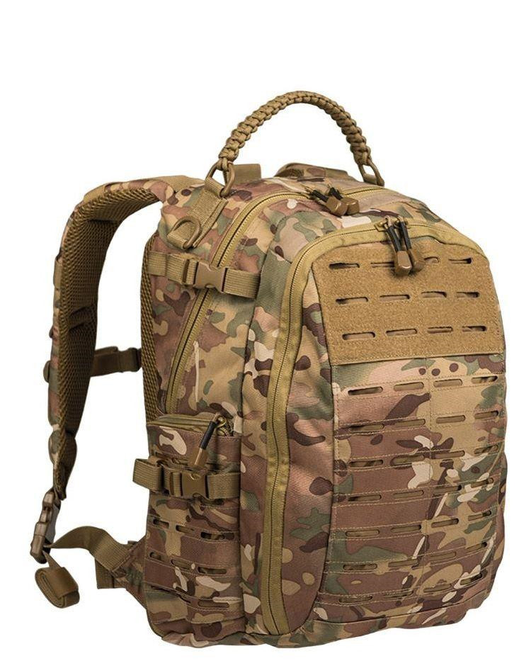 Image of   Mil-Tec Mission Rygsæk Laser Cut - 25 Liter (Multi Camo, One Size)
