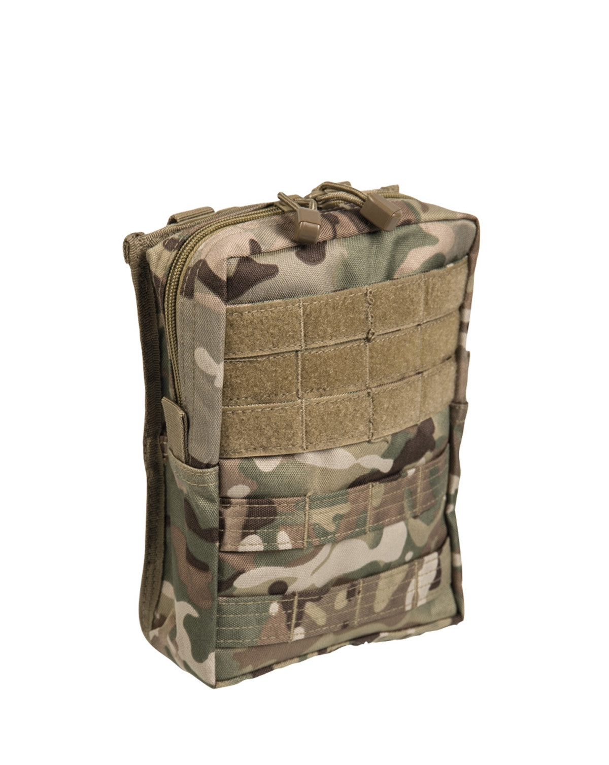 Image of   Mil-Tec MOLLE Bælte Pouch Large (Multi Camo, One Size)