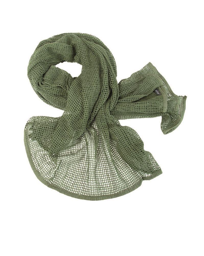 Image of   Mil-Tec Net Tørklæde (Oliven, One Size)