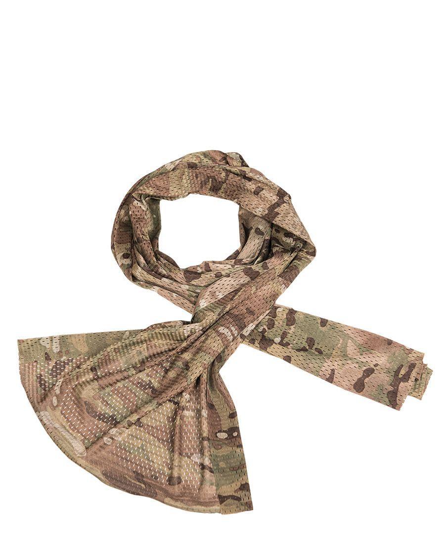 Image of   Mil-Tec Nettørklæde i Mesh (Multi Camo, One Size)
