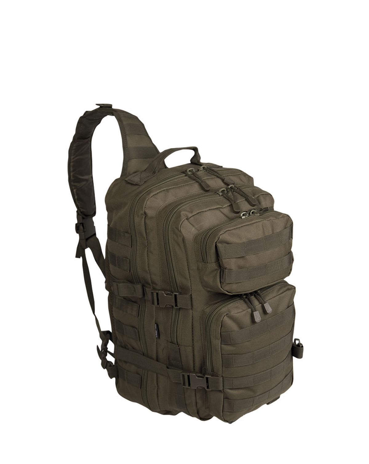 Image of   Mil-Tec One Strap Assault Pack - 29 Liter (Oliven, One Size)