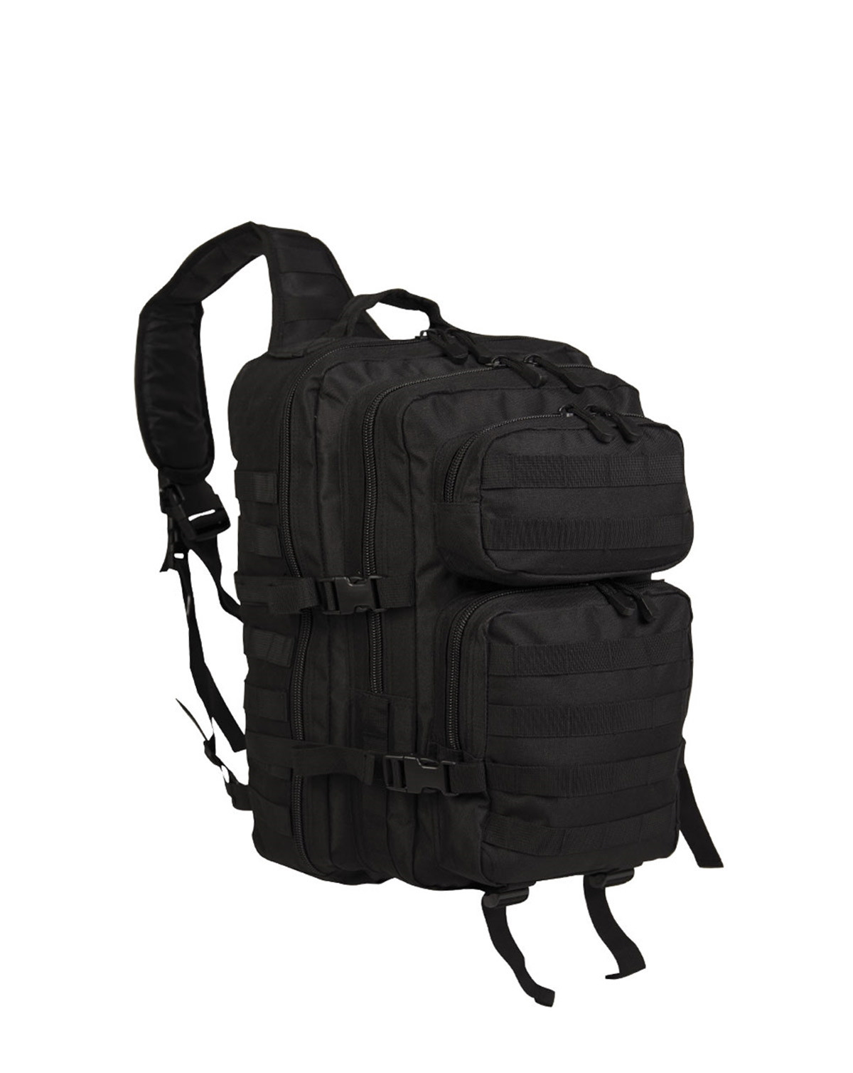 Image of   Mil-Tec One Strap Assault Pack - 29 Liter (Sort, One Size)