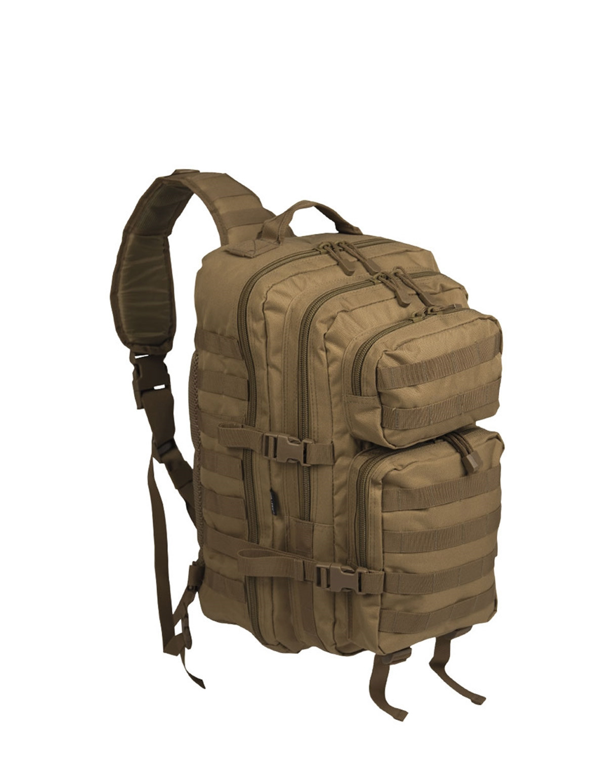 Image of   Mil-Tec One Strap Assault Pack - 29 Liter (Khaki, One Size)