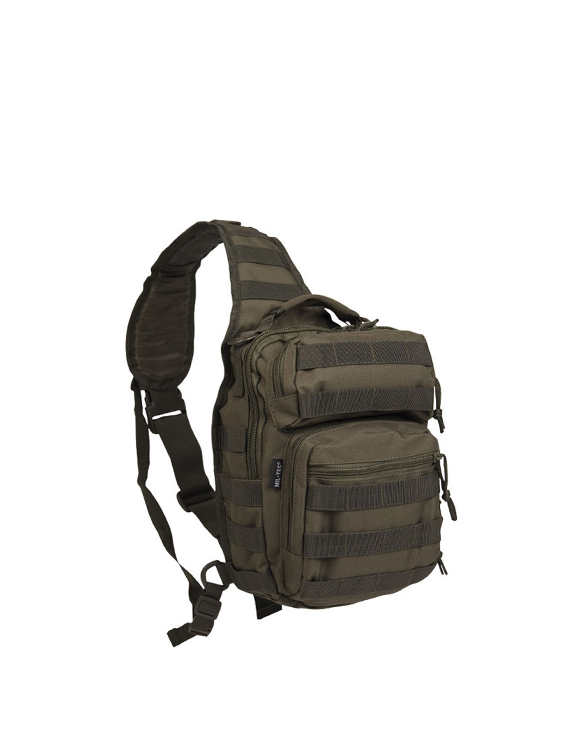 Image of   Mil-Tec One Strap Assault Pack (Oliven, One Size)
