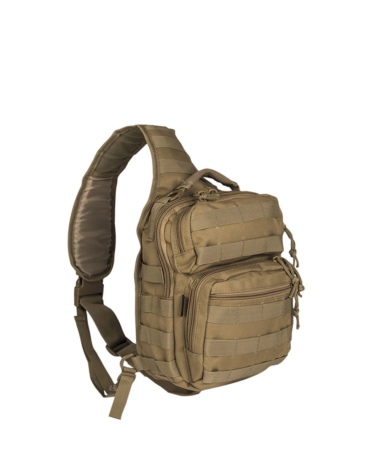 Image of   Mil-Tec One Strap Assault Pack (Khaki, One Size)
