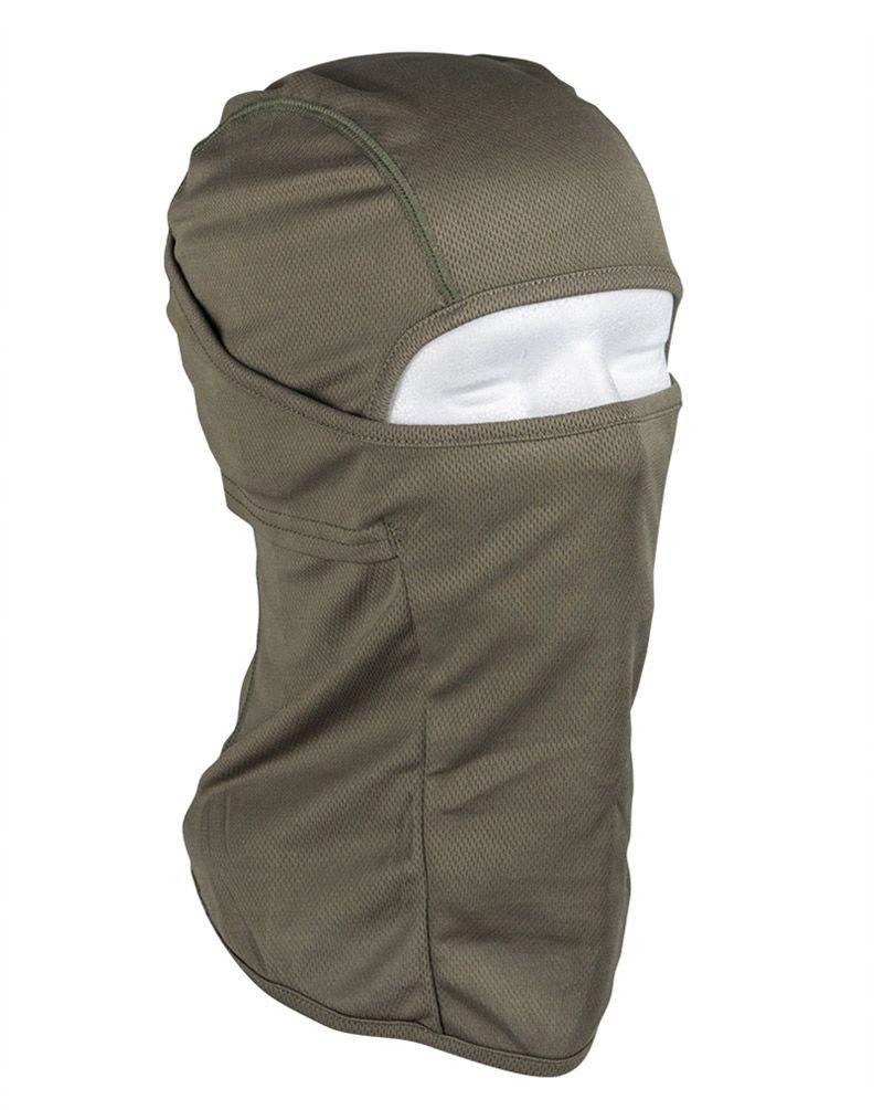 Image of   Mil-tec Svedtransporterende Balaclava (Oliven, One Size)