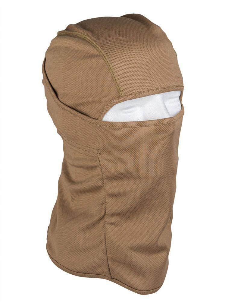 Image of   Mil-tec Svedtransporterende Balaclava (Coyote Brun, One Size)