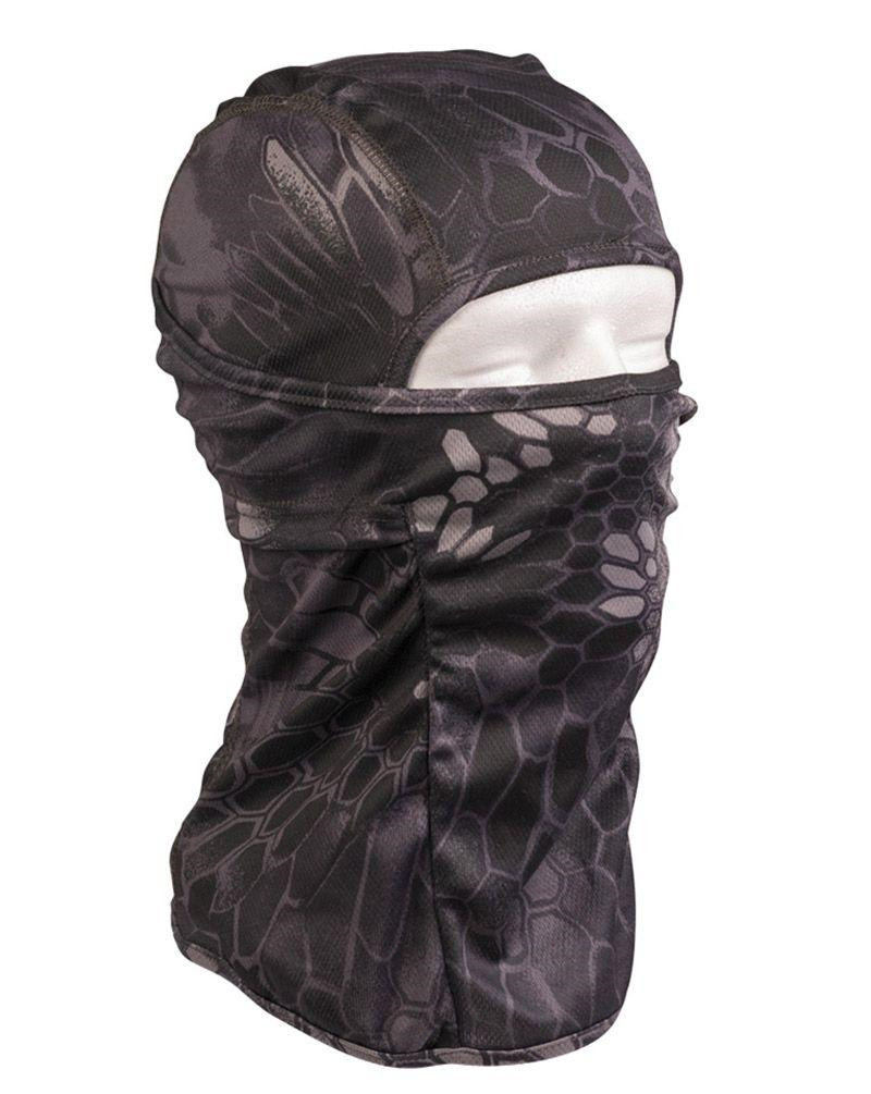 Image of   Mil-tec Svedtransporterende Balaclava (Mandra Night camo, One Size)
