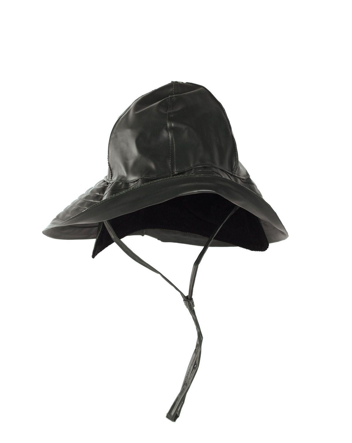 Image of   Mil-Tec Sydvest Fiskerhat (Sort, 2XL)
