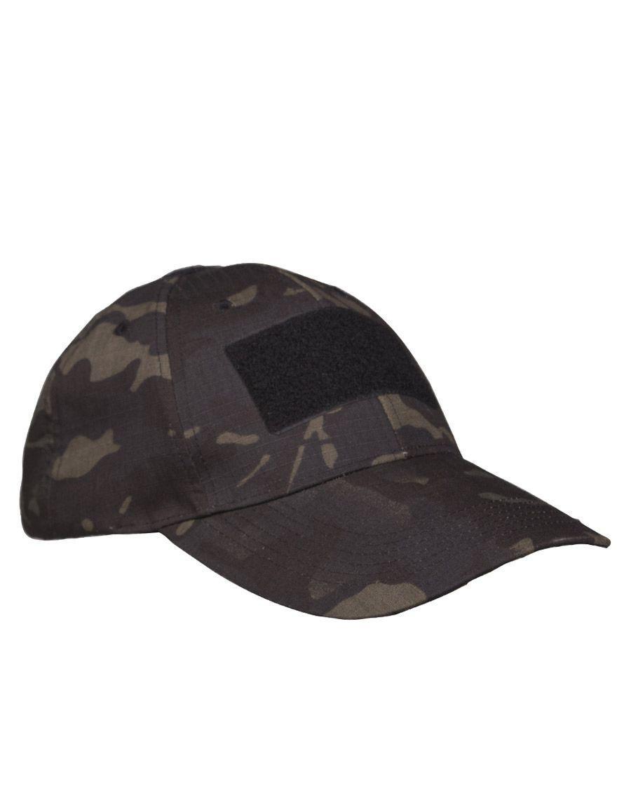 Mil-Tec Tactical Baseball Cap (Dark Camo, One Size)