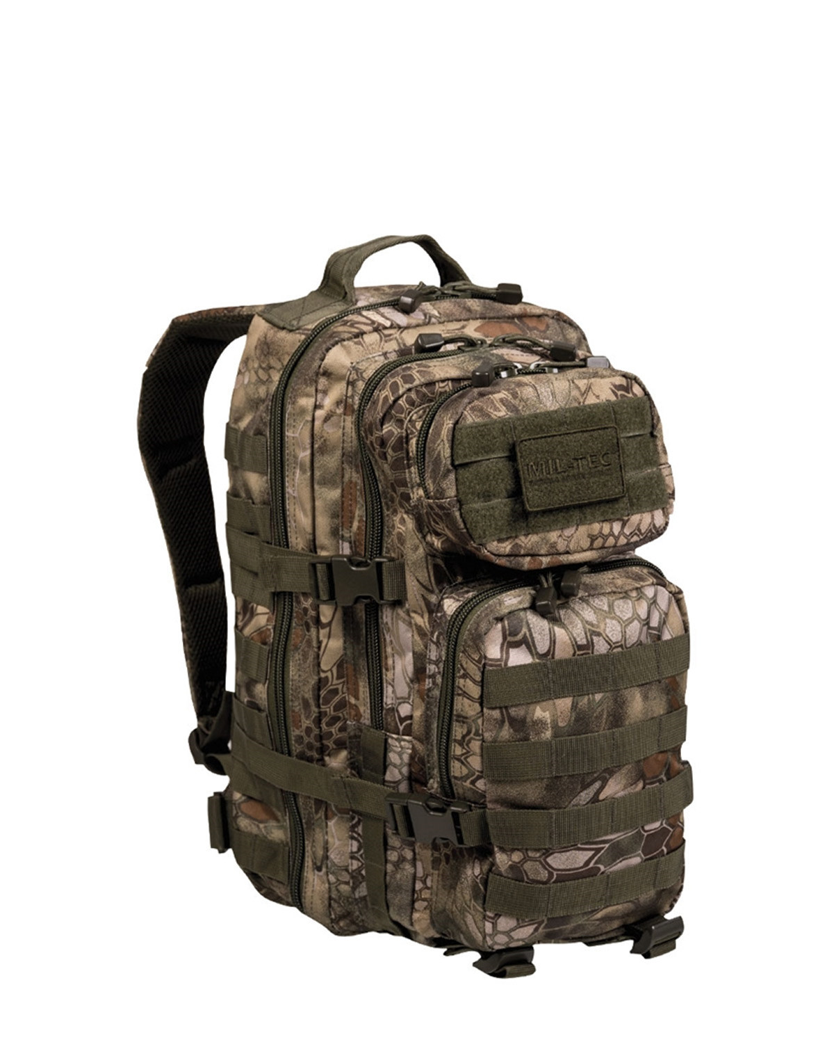 Image of   Mil-Tec U.S. Assault Rygsæk - 20 liter (Mandra Wood camo, One Size)