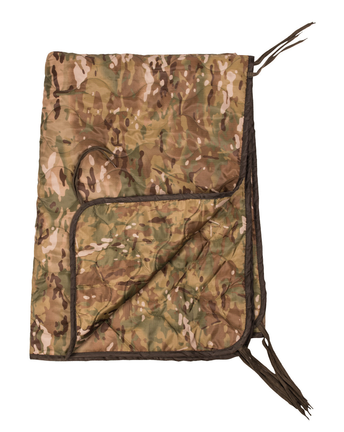 Image of   Mil-Tec US Style Poncho Liner (Multi Camo, One Size)