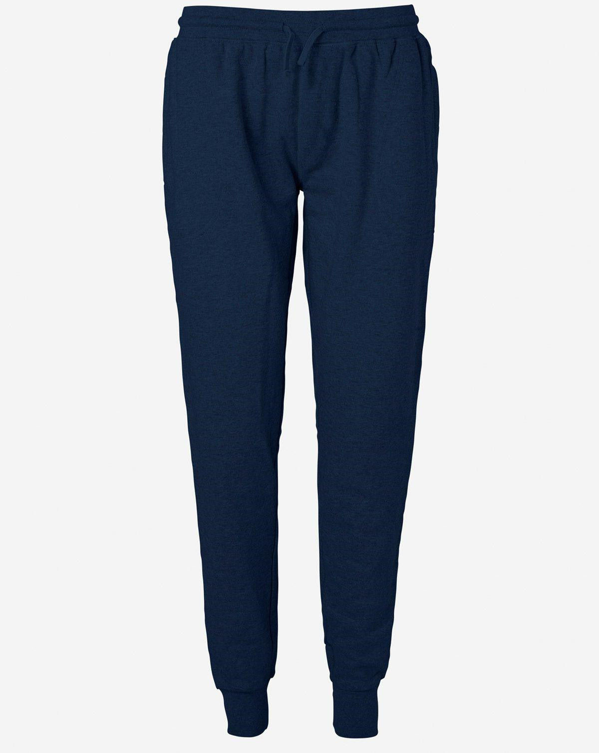 Image of   Neutral Økologisk Unisex Sweatpants w/ Cuff and Zip (Navy, 2XL)