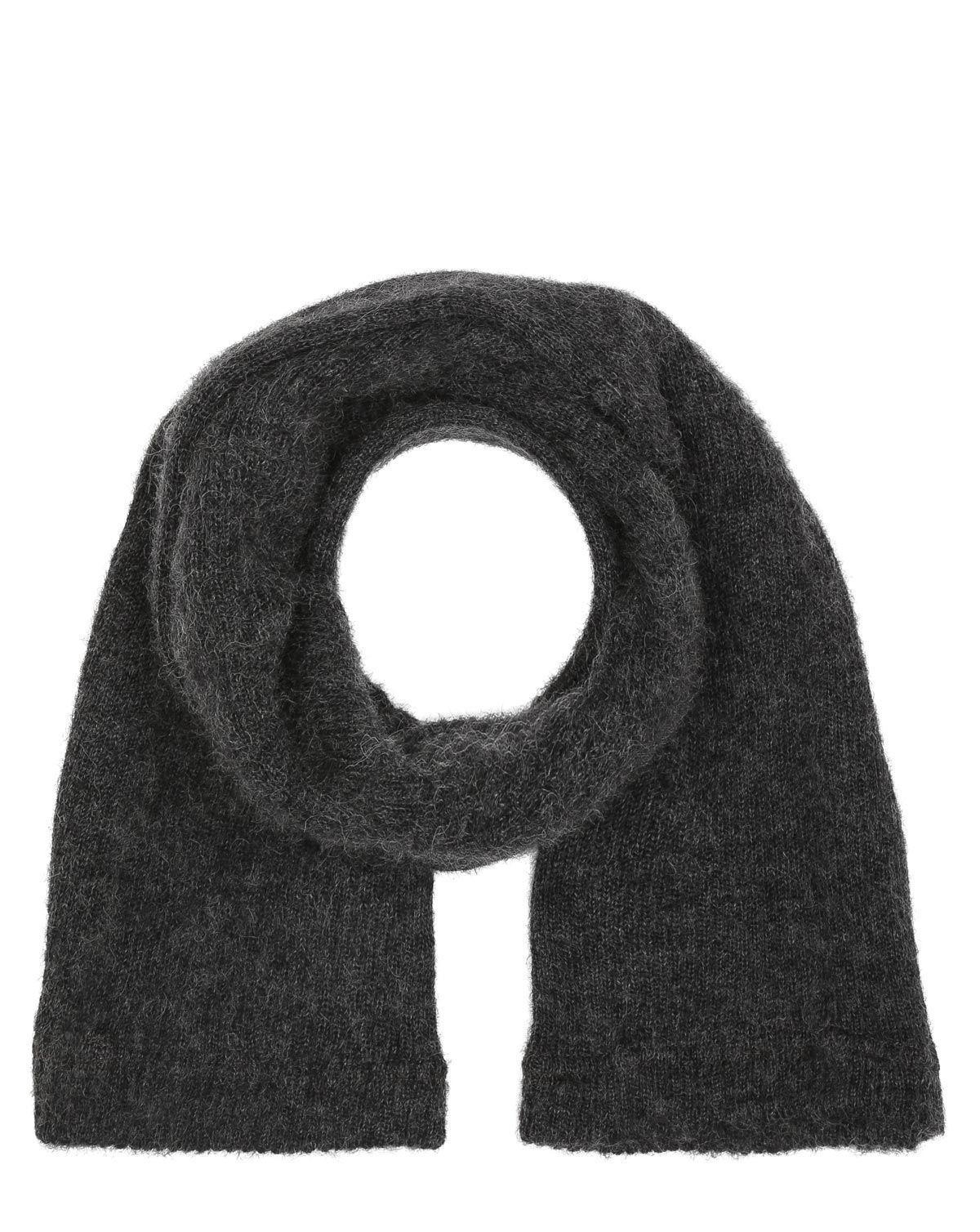Image of   Originalt Rørhalstørklæde i uld fra Civilforsvaret (Grå, One Size)