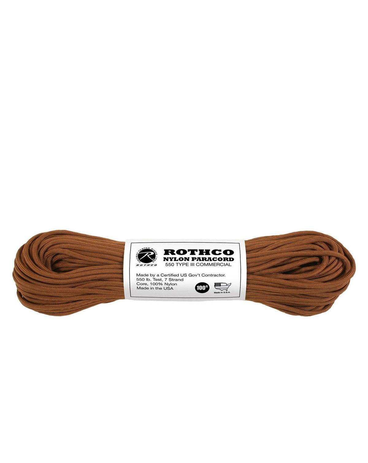 Image of   Paracord, Nylon 30m (Brun, One Size)