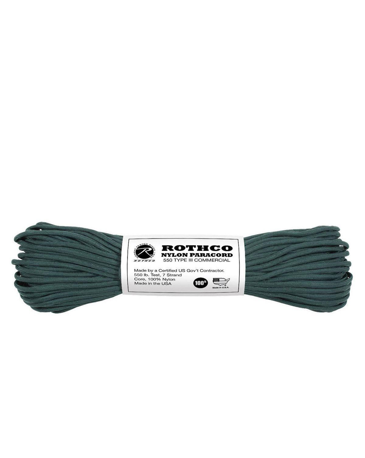 Image of   Paracord, Nylon 30m (Jagt Grøn, One Size)