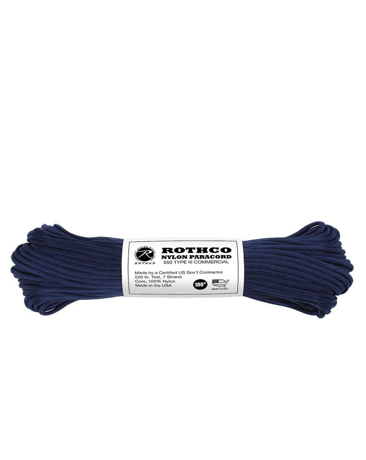 Image of   Paracord, Nylon 30m (Blå Midnat, One Size)