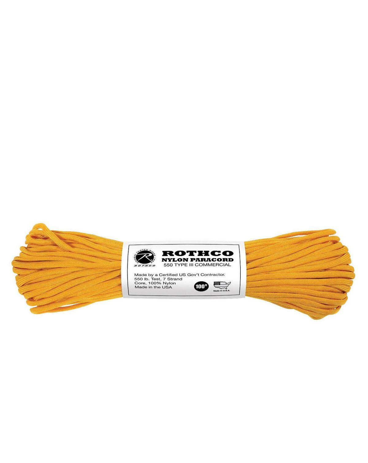 Image of   Paracord, Nylon 30m (Gul, One Size)