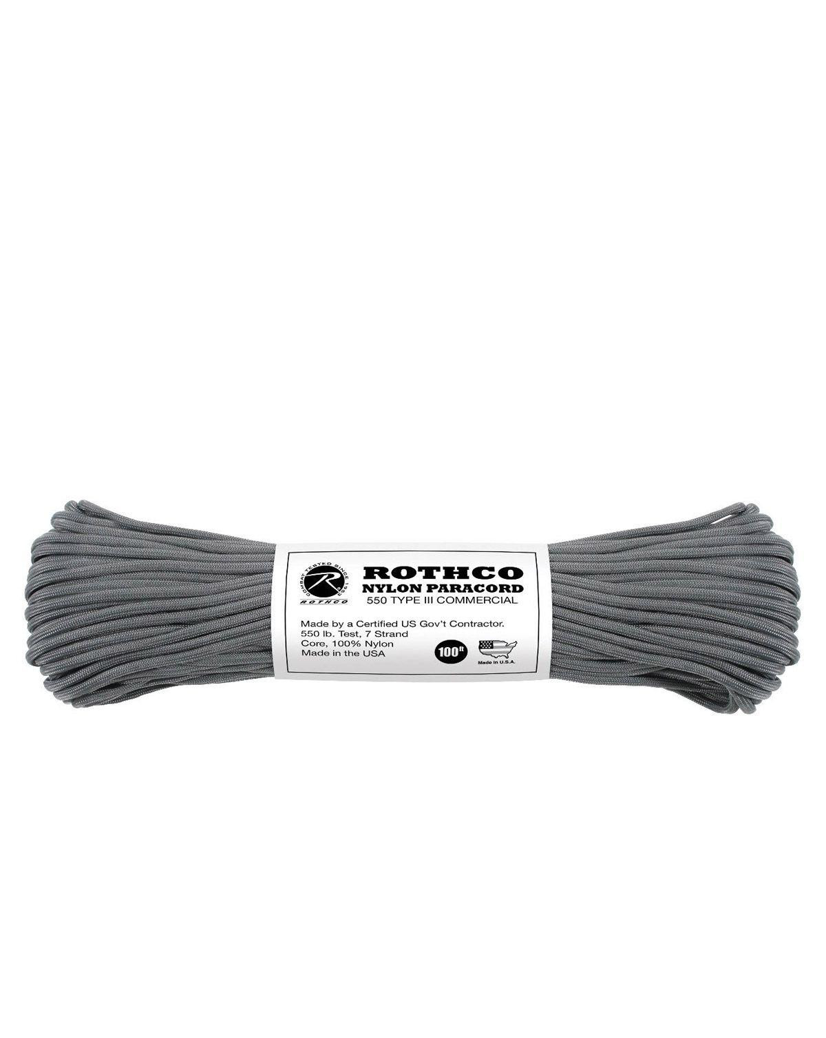 Image of   Paracord, Nylon 30m (Charcoal, One Size)