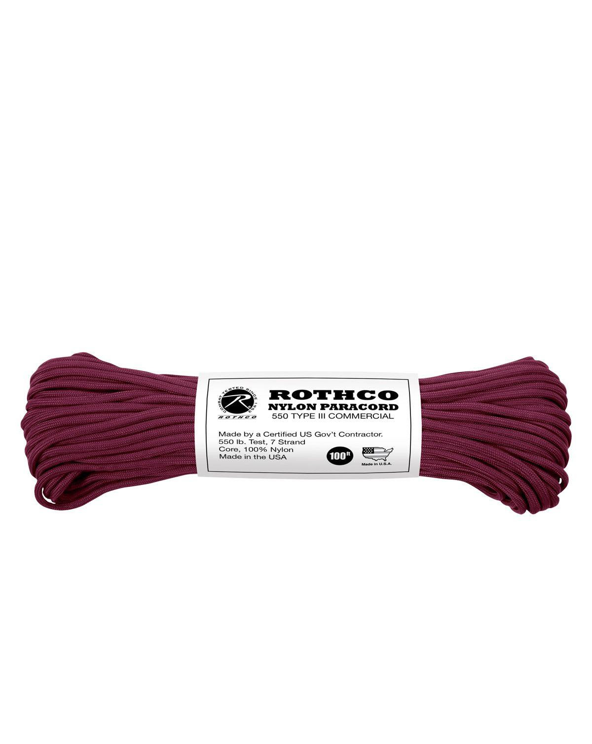Image of   Paracord, Nylon 30m (Bordeaux, One Size)