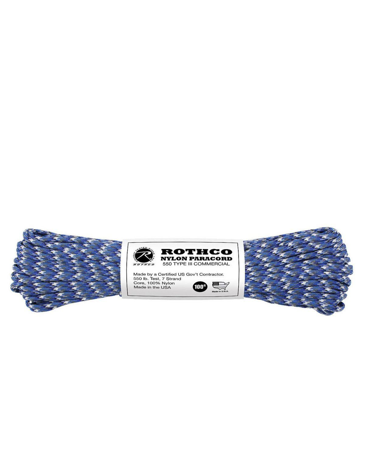 Image of   Paracord, Nylon 30m (Sky Blue Camo, One Size)