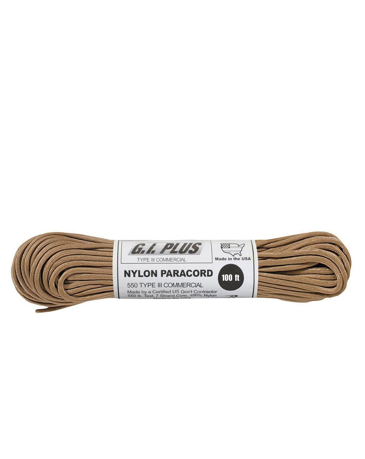 Image of   Paracord, Nylon 30m (Tan, One Size)