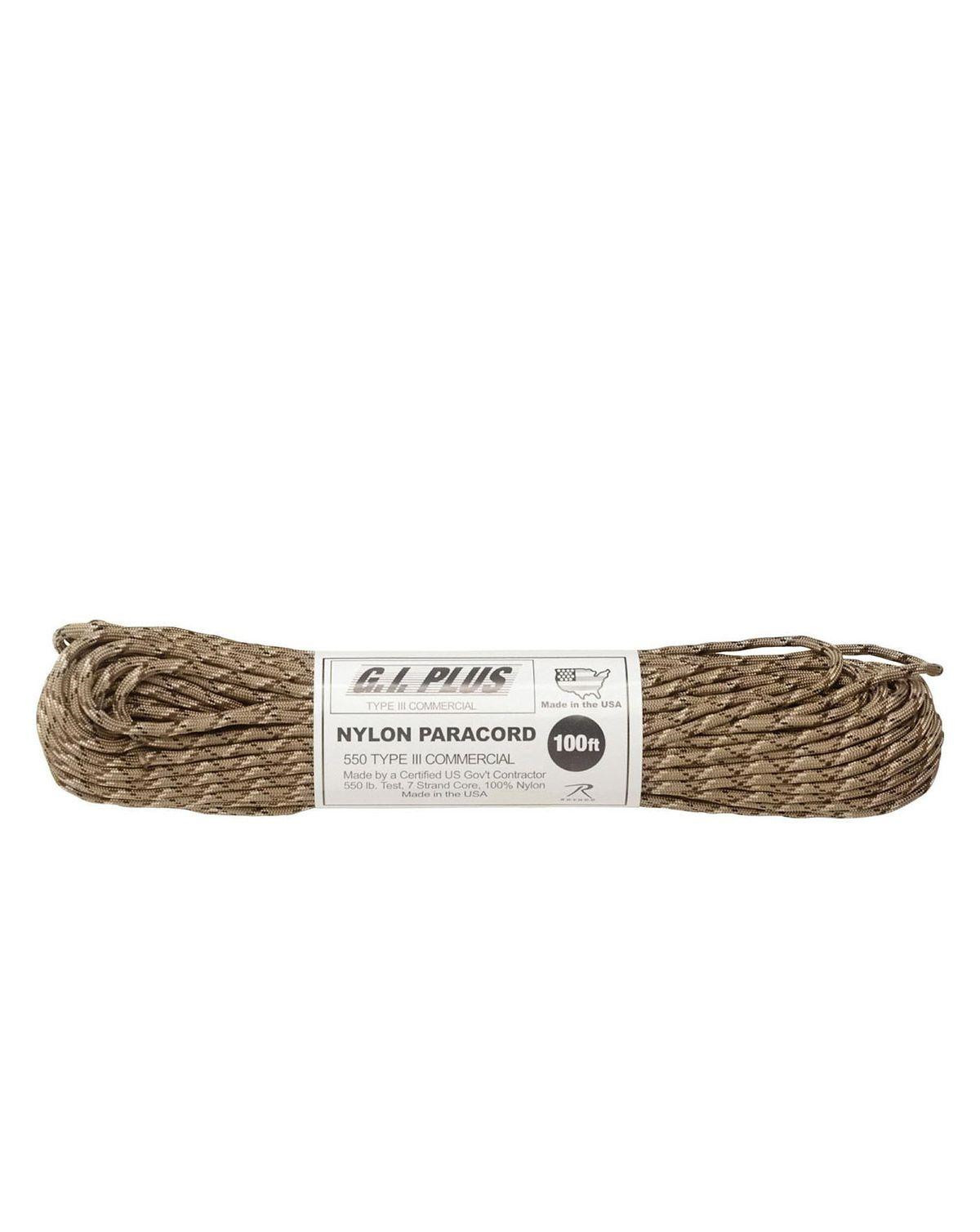 Image of   Paracord, Nylon 30m (Desert Camouflage, One Size)