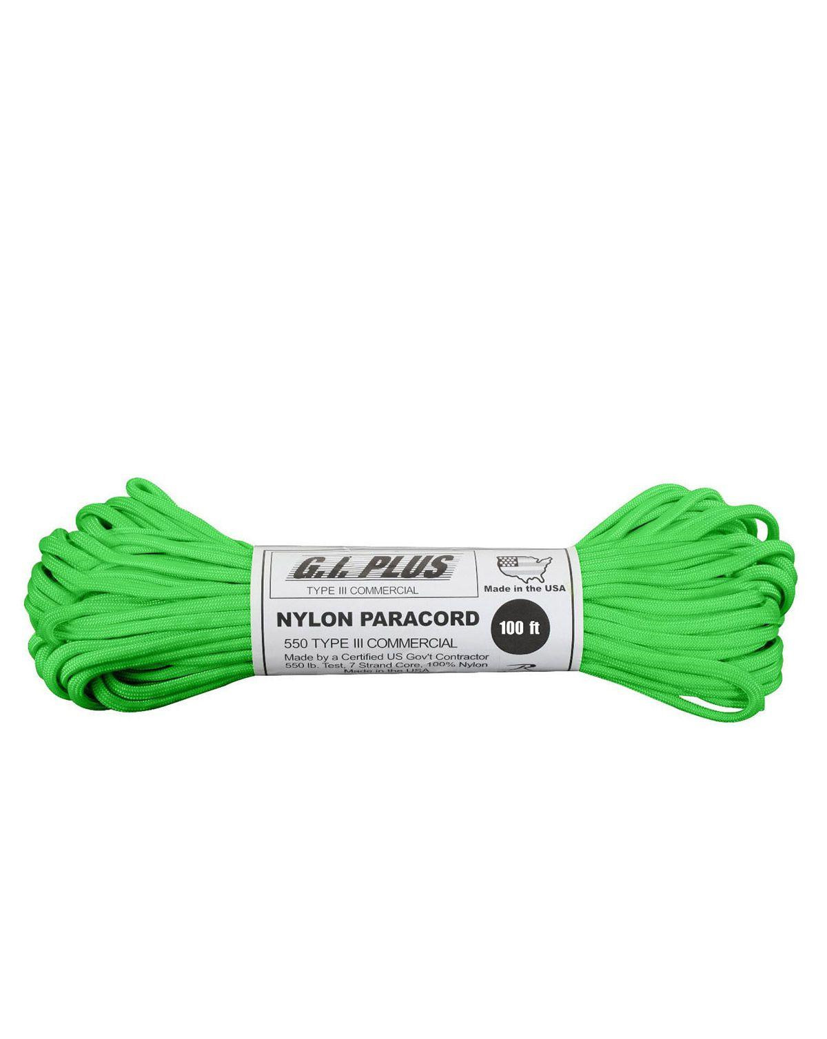 Image of   Paracord, Nylon 30m (Grøn, One Size)