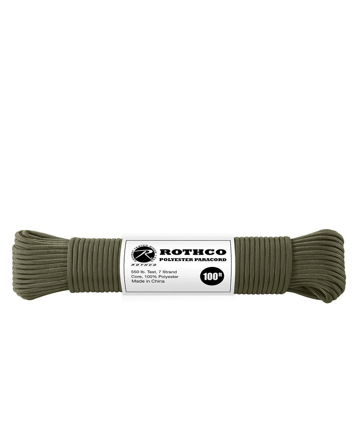 Image of   Paracord, Polyester 30m (Oliven, One Size)