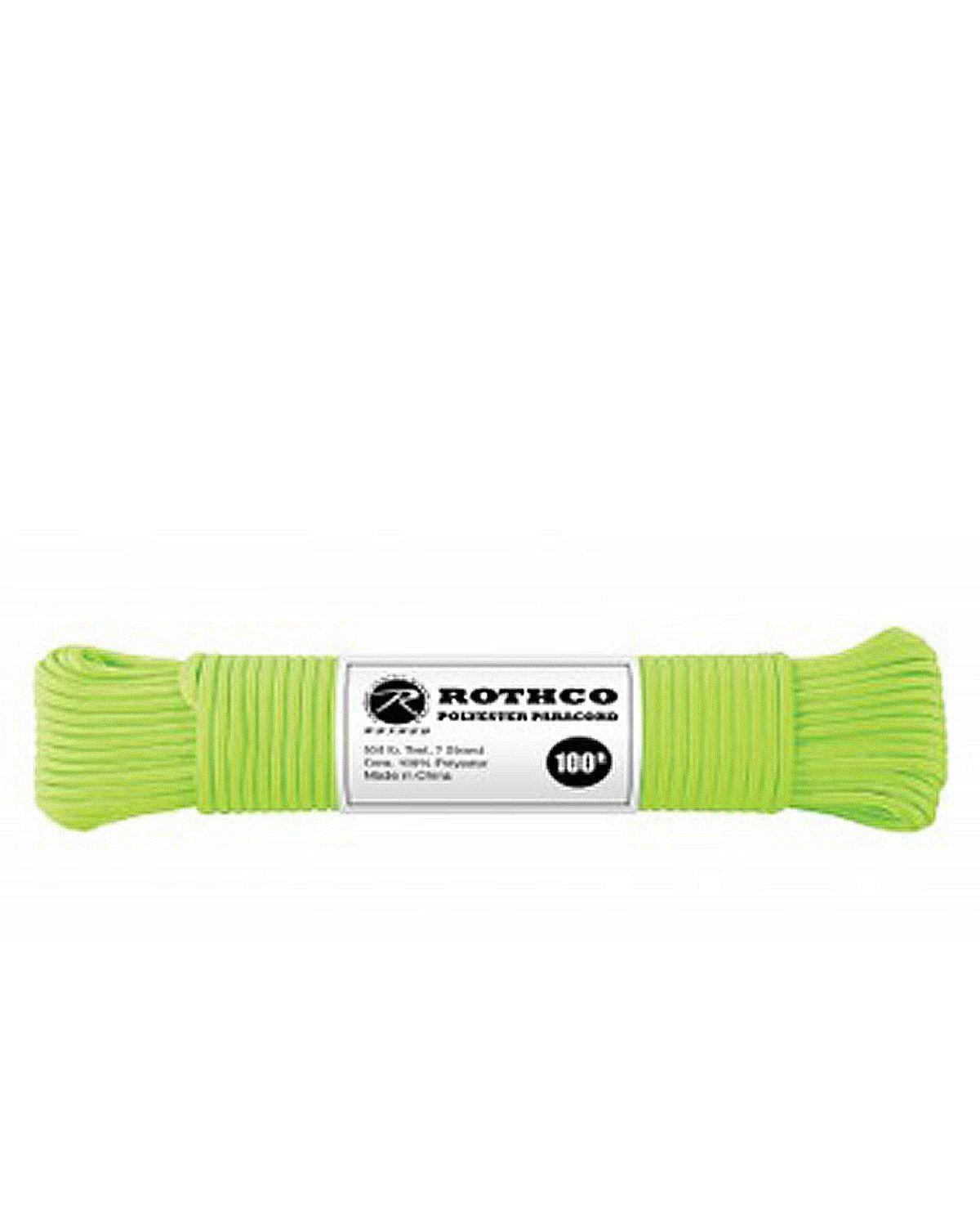Image of   Paracord, Polyester 30m (Safety Green, One Size)