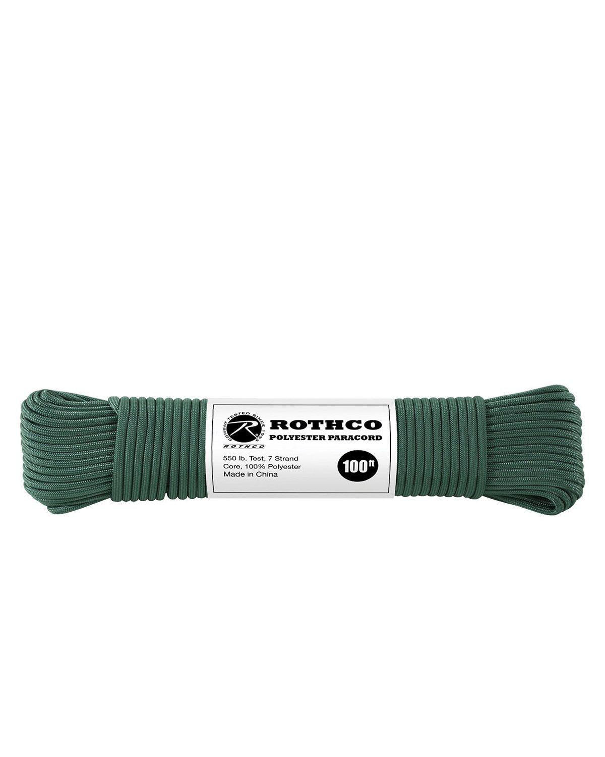 Image of   Paracord, Polyester 30m (Jagt Grøn, One Size)