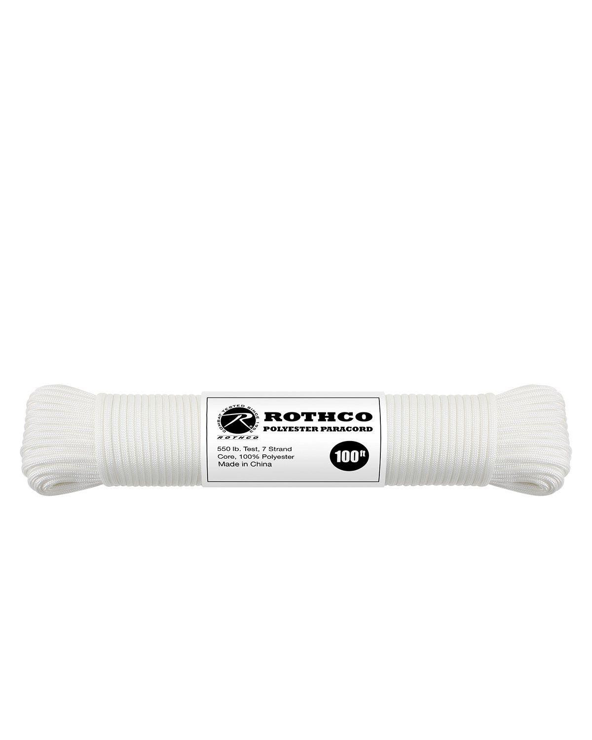 Image of   Paracord, Polyester 30m (Hvid, One Size)