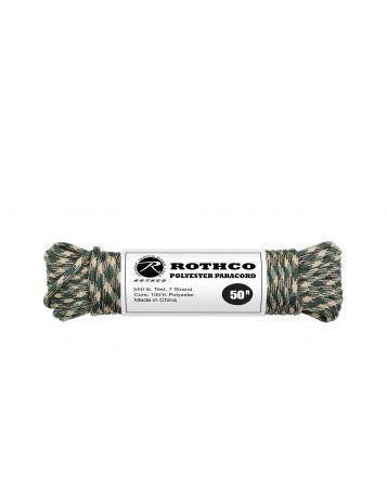 Image of   Paracord, Polyester 30m (Woodland, One Size)