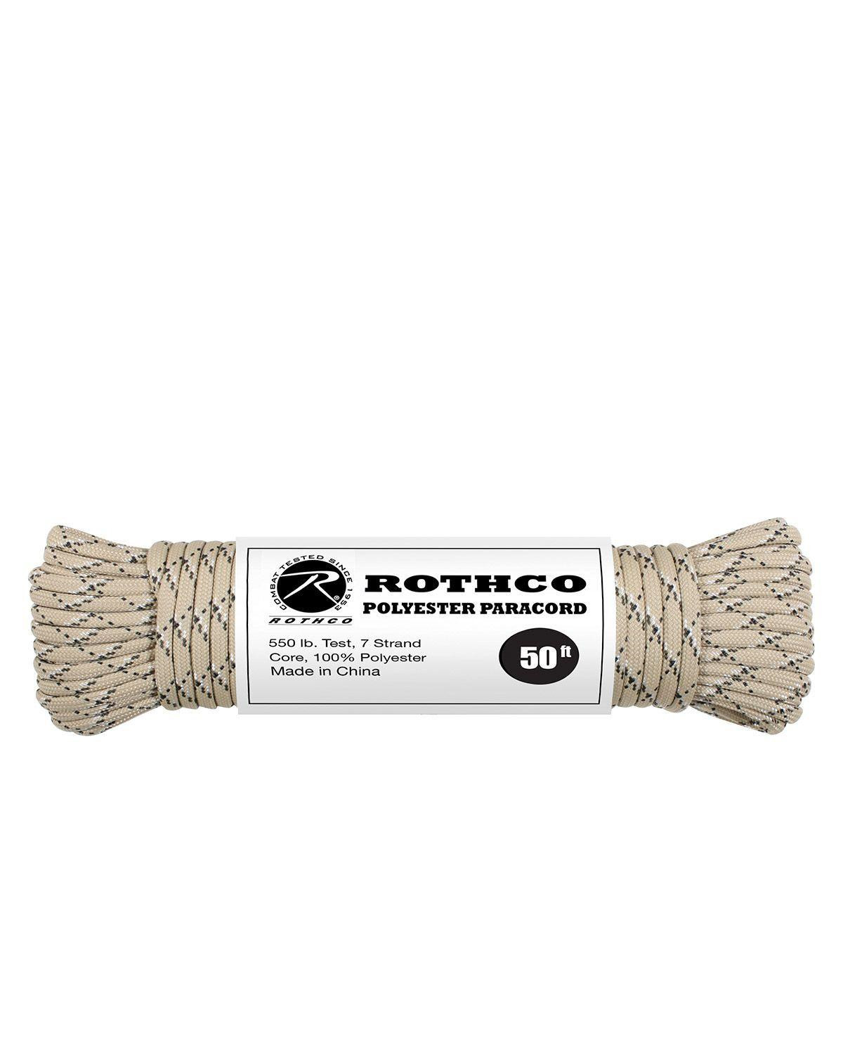 Image of   Paracord, Polyester 30m (Six-Color Desert, One Size)