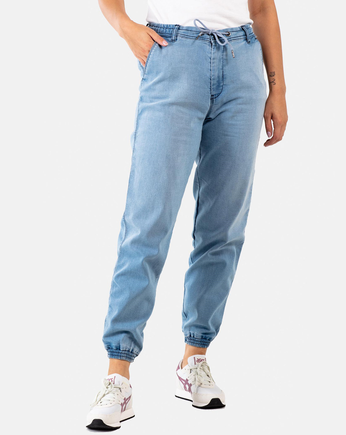 Reell Reflex Women Pant (Light Blue Denim, XS - Long)