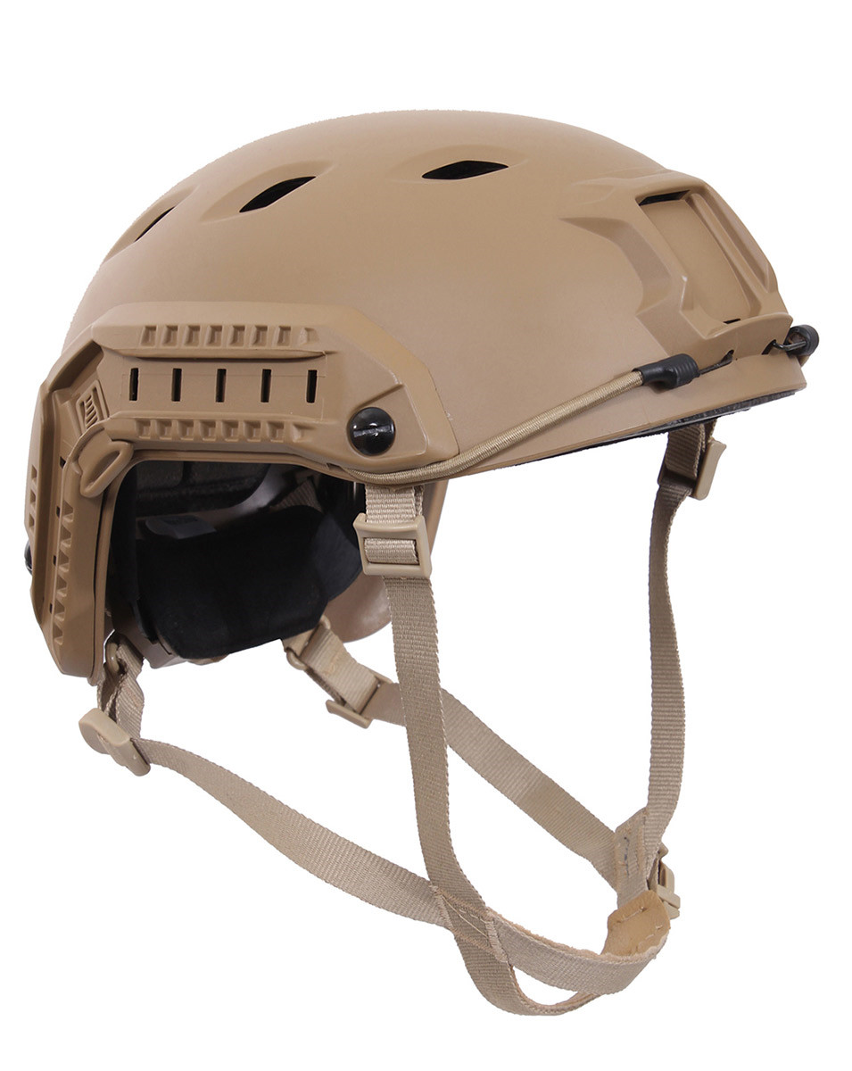 Image of   Rothco Advanced Airsoft Hjelm (Coyote Brun, One Size)