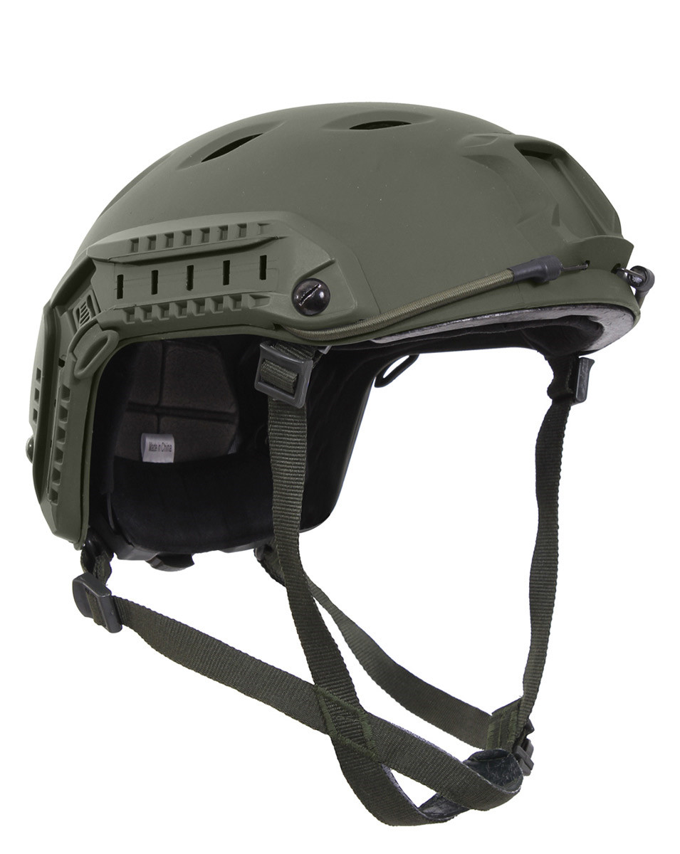 Image of   Rothco Advanced Airsoft Hjelm (Oliven, One Size)