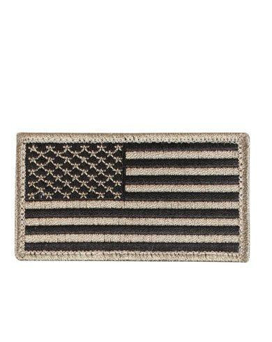Rothco Amerikansk Flagga (Khaki, One Size)