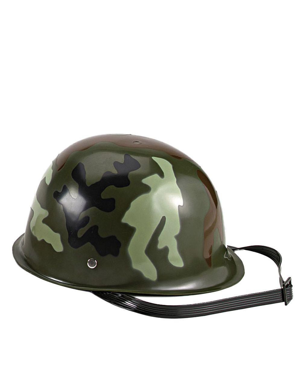 Image of   Rothco Army Hjelm til Børn (Woodland, One Size)