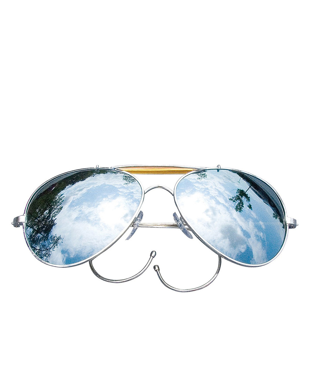 Image of   Rothco Aviator Solbriller - Air Force Style (Spejl, One Size)