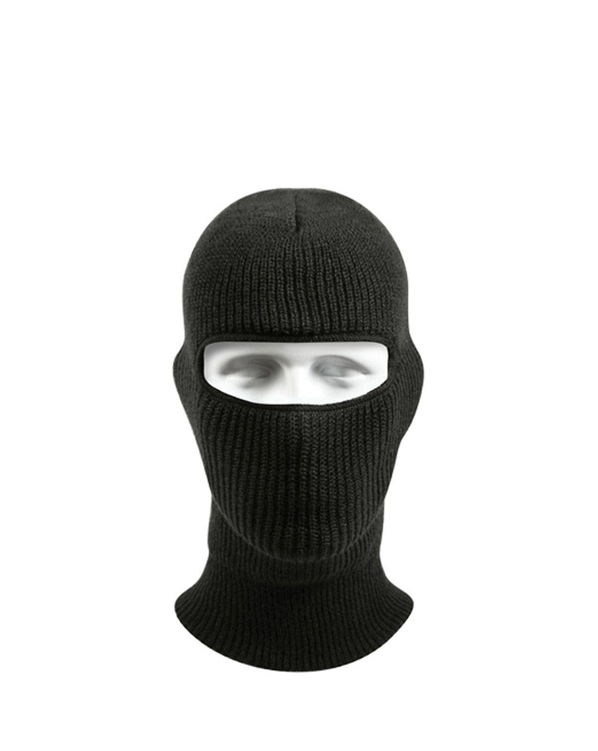 Image of   Rothco Balaclava - 1 hul (Allergitestet) (Sort, One Size)