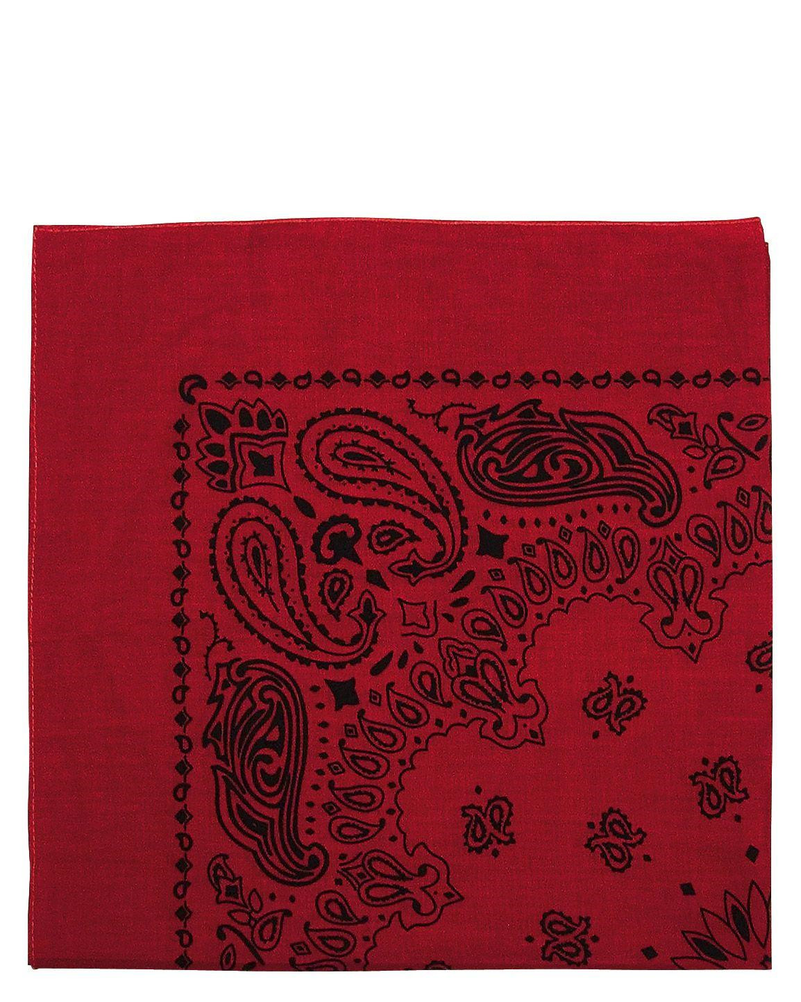 Image of   Rothco Bandana 4 (Rød / Sort, One Size)