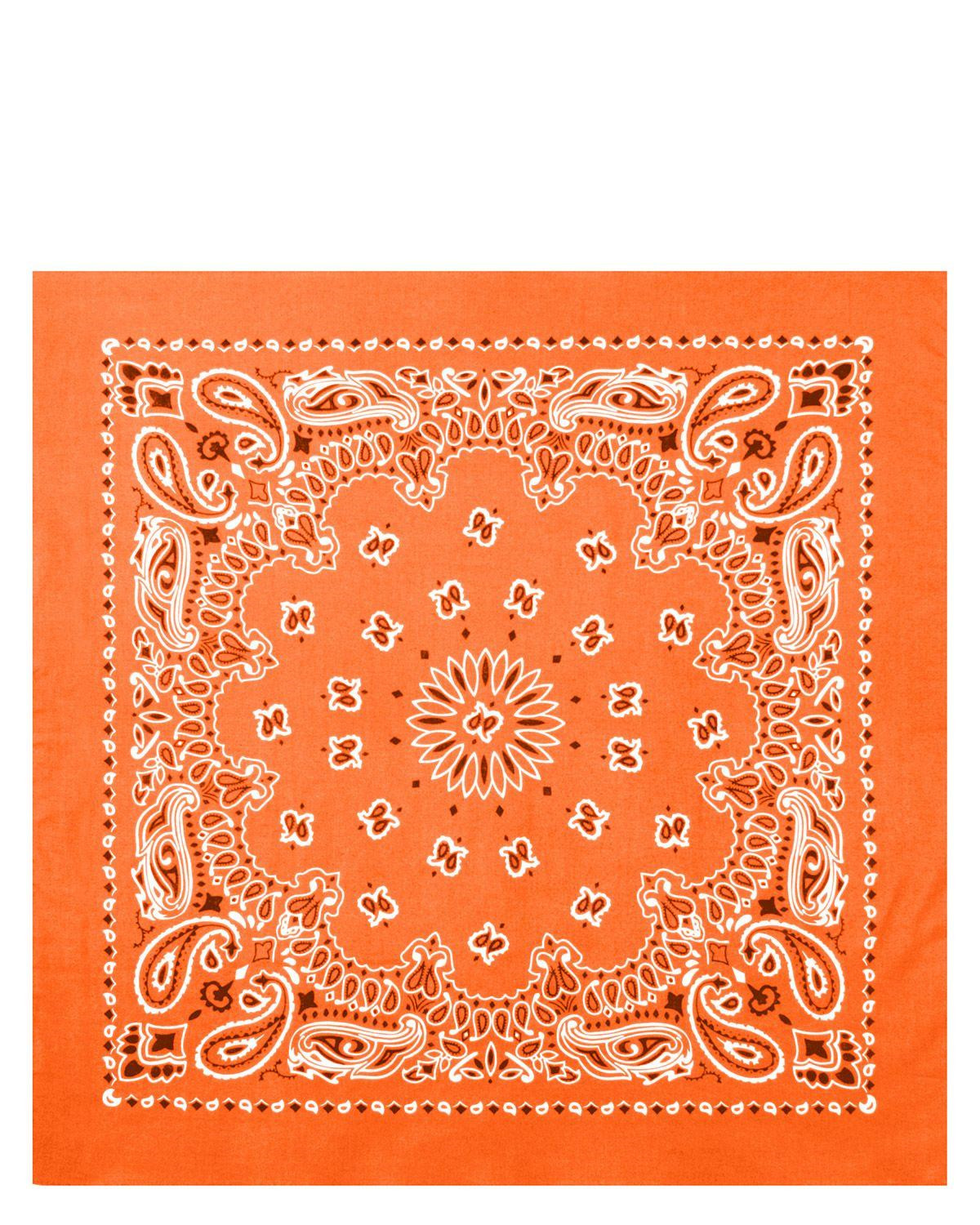 Image of   Rothco Bandana 4 (Orange, One Size)