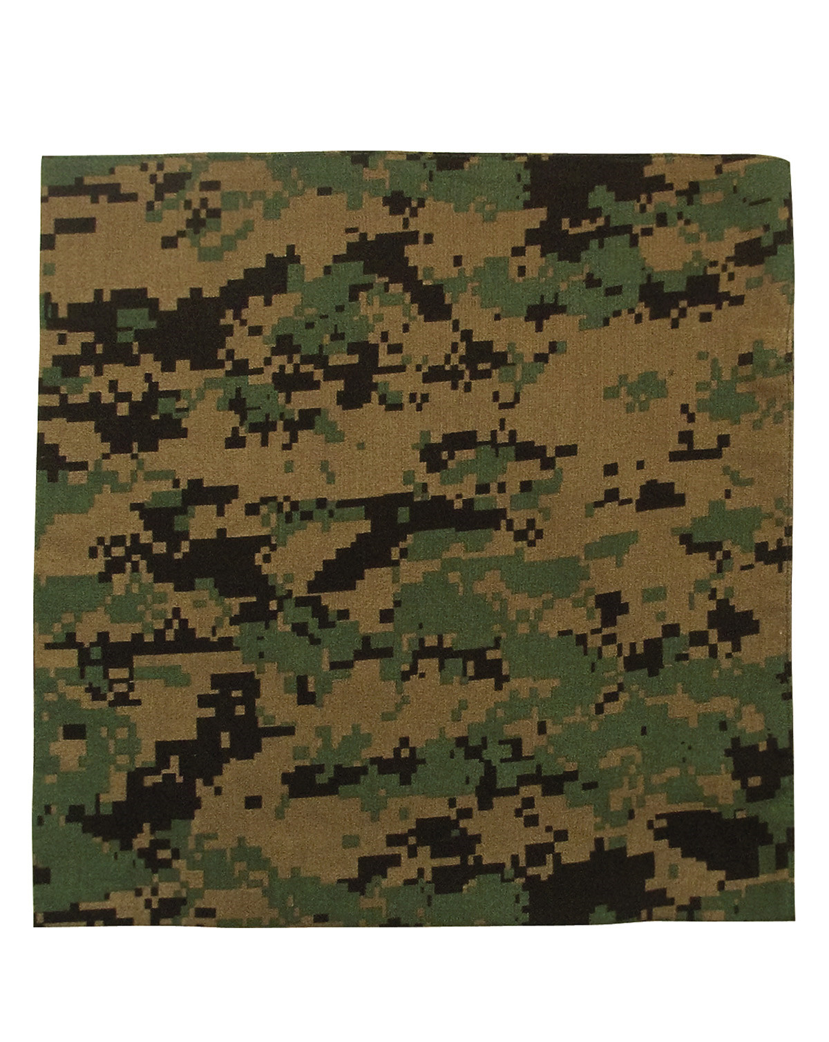 Image of   Rothco Bandana 5 (Digital Woodland, One Size)