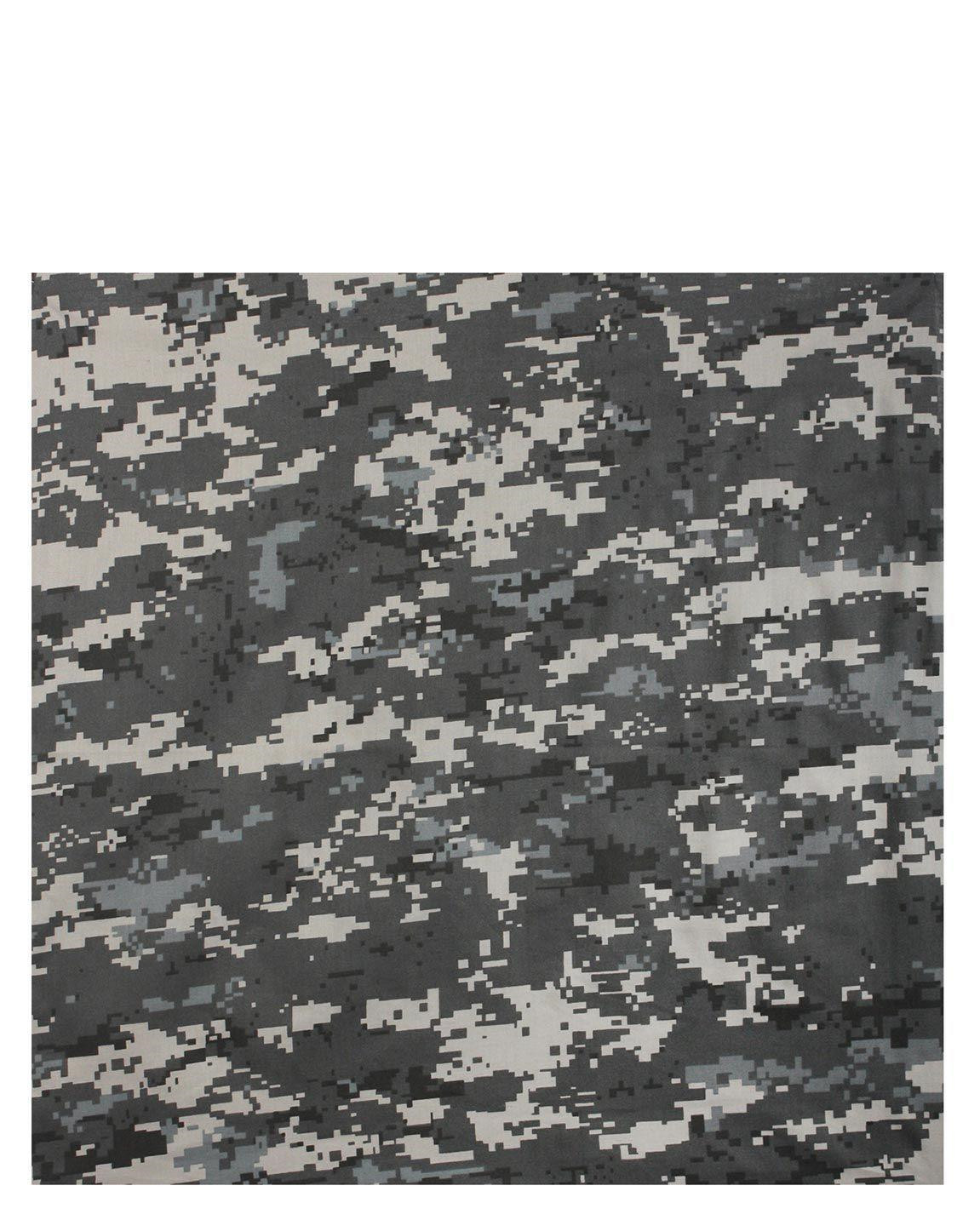 Image of   Rothco Bandana 6 (Dæmpet Urban Digital Camo, One Size)