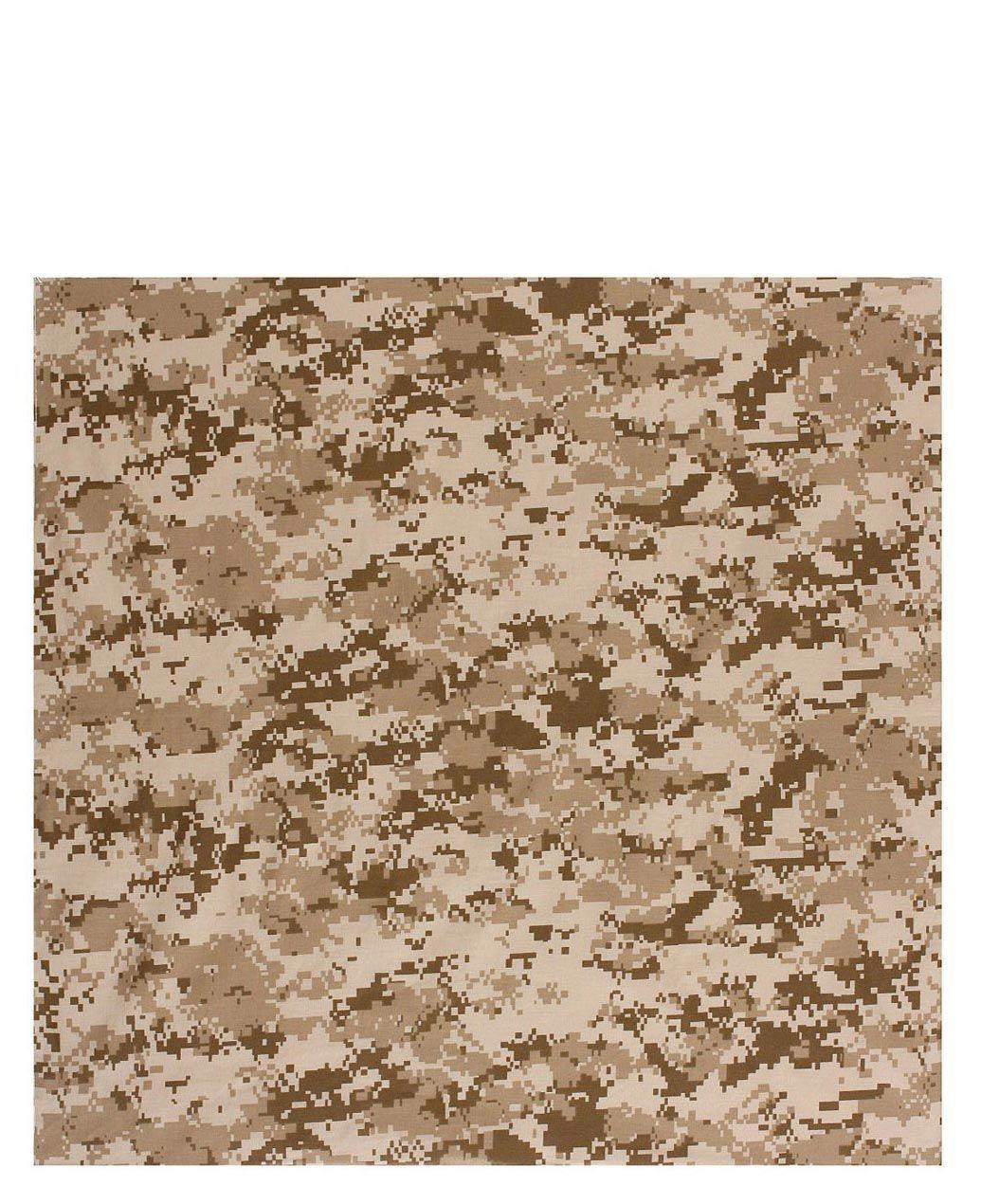 Image of   Rothco Bandana 6 (Desert Digital Camo, One Size)