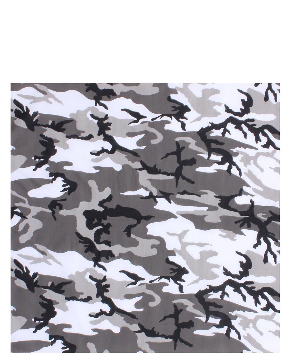 Image of   Rothco Bandana 6 (Urban Camo, One Size)
